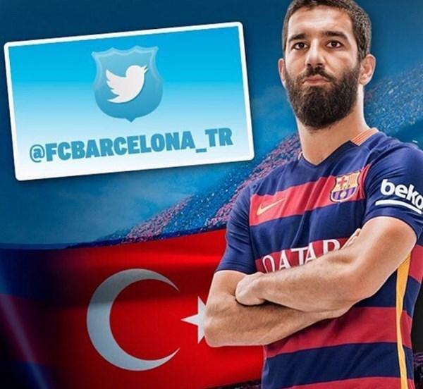 Arda Turan  Kulübümün Türkçe twitter hesabı sizler için ( hayırlı cumalar )