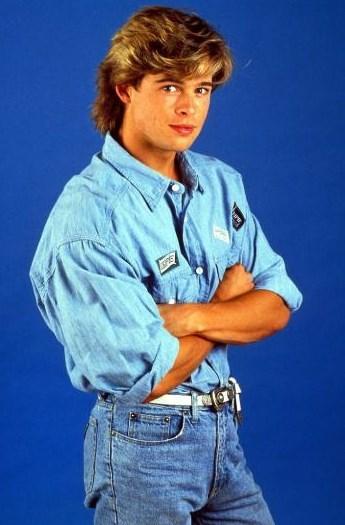 Bu da Brad Pitt.