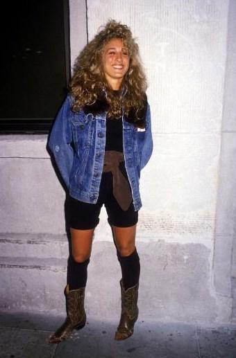 Sarah Jessica Parker'ın gençlik yıllarından.