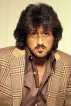 Sylvester Stallone'nin 80'lerdeki görüntüsü.