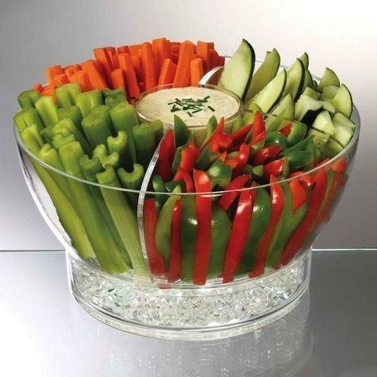 Buzlu Parti Kasesi  Meyve ve sebzelerinizi daha uzun süre serin tutmak için ideal.