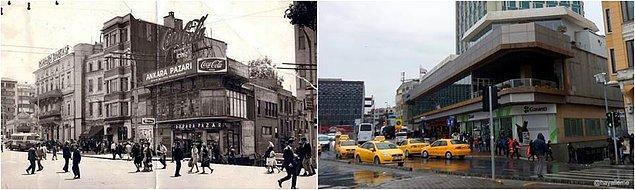 Öncesi & Sonrası Fotoğraflarla İstanbul - 14