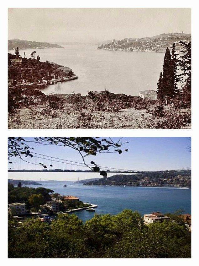 Mihrabat'tan Boğaz'a bakış, Beykoz.