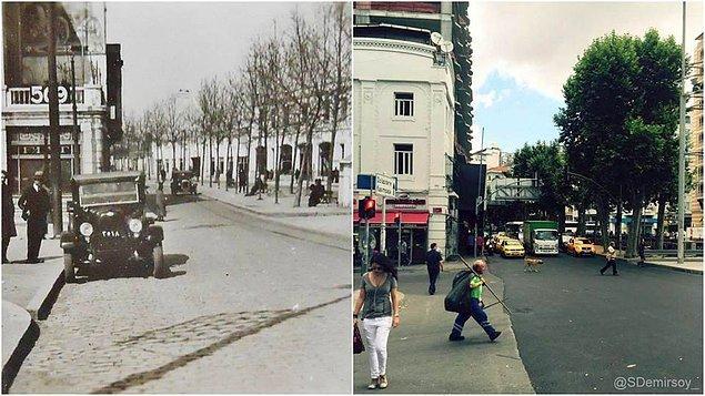Öncesi & Sonrası Fotoğraflarla İstanbul - 25