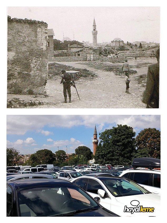 Yıllar önce ve günümüzde Vefa'dan bakış