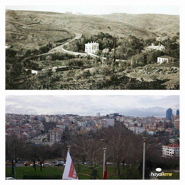 Süslü Karakol'dan Muradiye, Topağacı ve Ihlamur'a bakış.