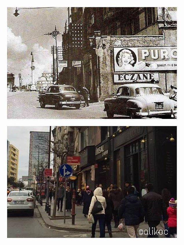 60 yıl önce ve şimdi Şişli.
