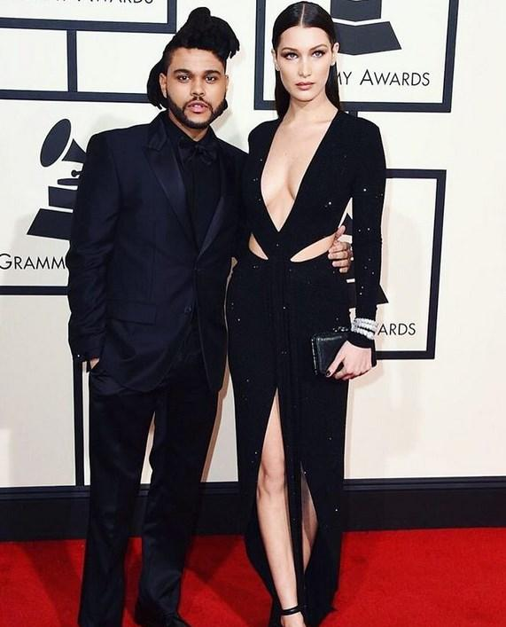 Bella Hadid sevgilisini, The Weeknd, tebrik etti.