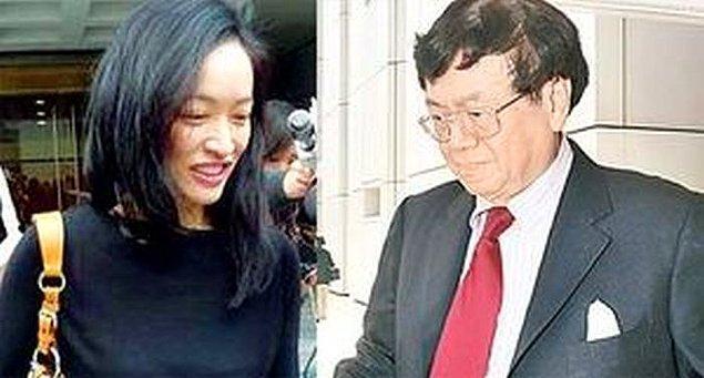 Samatur Li Kin-Kan ve Floransa Tsang Chiu-Wing – 157 Milyon $  Hong Kong'un en ünlü iş adamı Samatur, bir genç kızı hamile bıraktı. Kız kürtaj olmayı reddedince karısı bunu öğrendi ve boşanma davası açtı. Bu durum Samatur'a 157 milyon $'a mal oldu.