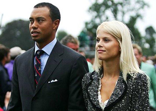 Tiger Woods ve Elin Nordegren – 100 Milyon $  Aldatıldığını söyleyip boşanma davası açan Elin Woods, mahkemeye bunu ispat edince Tiger Woods'tan boşanıp bir de tazminat kazandı. Hala kesin rakam bilinmiyor ama 100 ile 750 milyon dolar arası bir meblağdan bahsediliyor.