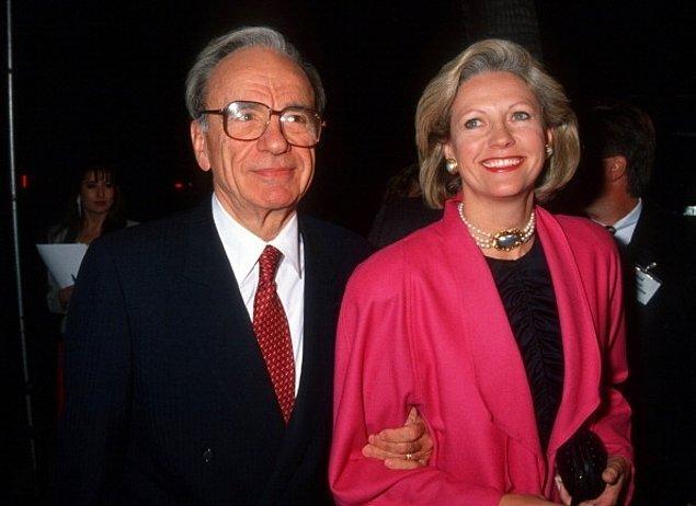 Rupert Murdoch ve Anna Maria Torv – 1.7 Milyar $  ABD'nin medya imparatoru Rupert Murdoch 32 yıllık eşi Anna'yı aldatmış ve bu yüzden eşine 1,7 milyar $'a yakın nafaka ödemiş.
