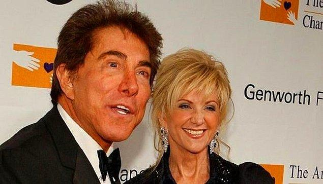 Steve Wynn ve Elaine Pascal – 740 Milyon $  Las Vegas'ın kralı olan ve nerdeyse yapılan her otele imzasını atan Wynn, 42 yıllık eşi Elaine'den ayrılınca 7 buçuk milyar $'lık bir bedel ödemiştir.