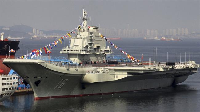 """Ukrayna'dan """"gazino yapma sözüyle"""" alınan Varyag, Çin tarafından ülkenin kuzeyindeki Dalian limanında donatılarak uçak gemisi haline getirilmiş ve adı """"Liaoning"""" olarak değiştirilmişti."""