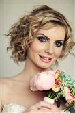 Kıvırcık Saçlılar İçin Düğün Saçı Modelleri - 16