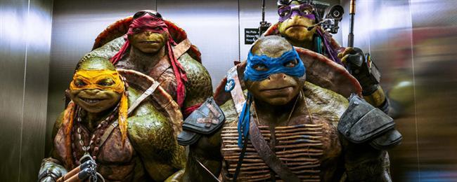 Ninja Kaplumbağalar 2: Gölgelerin İçinden (2016) Vizyon Tarihi: 3 Haziran 2016  Serinin ikinci filminin konusu ise Manhattanlı kaplumbağalarımızın artık yeryüzüne çıkmak istemesi ancak çok saygı gösterdikleri ustaları Splinter'in buna izin vermemiş olmasıdır.İlk filmde birlik olup ezeli düşmanları Shredder'ın planlarını alt eden kaplumbağalar New York şehrini koruma görevini daha da deneyimli olarak sürdürüyor.