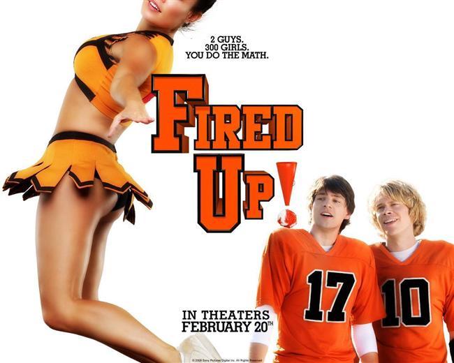 Ateşli Gençlik / Fired Up! (2009)  Gerald R. Ford Lisesi futbol takımının yıldızları olan Shawn ve Nick, yazlarını başka bir futbol kampında geçirme olasılığından ödleri kopuyordur. Nick ikisi için bir dolap çevirince, kendilerini okulun birbirinden güzel amigo kızlarının kampında bulurlar.