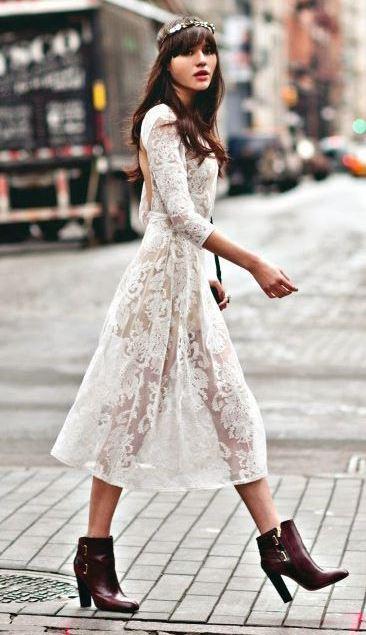 Elbise Kombin Önerileri - 12