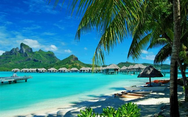 Costa Rica, Ecuador, Sosyete Adaları, Guatemala ve tabii ki Hawaii harika olur