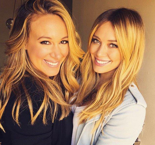 Haylie Duff ve Hilary Duff