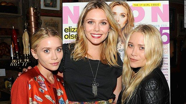 Mary-Kate Olsen, Elizabeth Olsen, ve Ashley Olsen