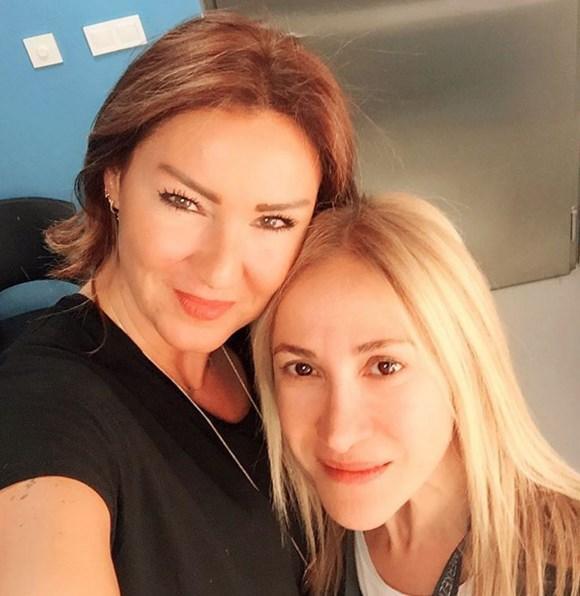 Pınar Altuğ Atacan  2 gun onceden bir #tbt @cenkerenonline #PSM konseri kulisi,canimmm @ulkermutlucan onun sihirli elleri dokunmadan sahneye cikilmaz ☺️☺️☺️☺️