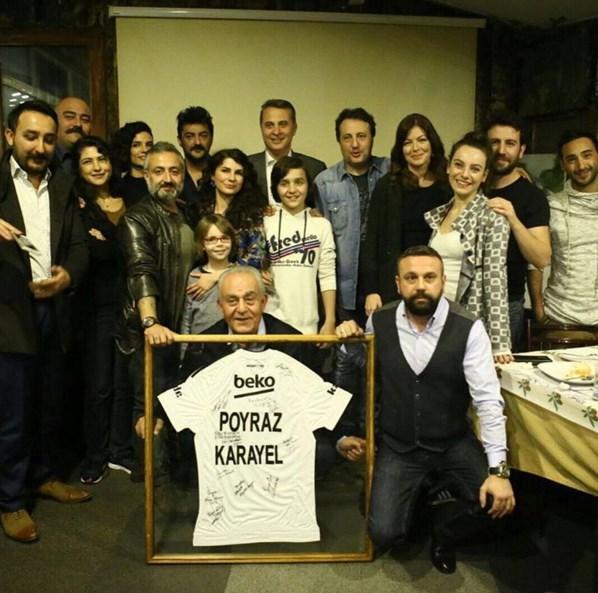Celil Nalçalan  Büyük başkan @forman1903 , güzel ağabey @ercansaatchi ... Hediye gibi geldiniz, HOŞ GELDİNİZ! 📷: @frhtsirin
