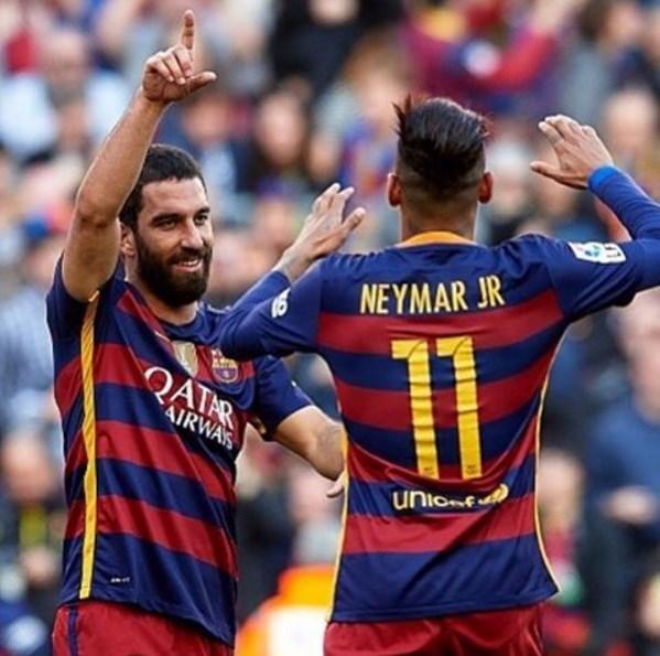 Arda Turan  Muy bien 3 puntos vamos a seguır trabajando çok iyi üç puan çalışmaya devam💪👏⚽️ Vİsca Barça