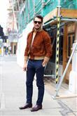 Sokak Modası: Süet Ceket - 9