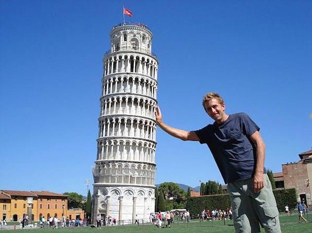 Pisa Kulesi'yle bir türlü baş başa kalamazsınız.