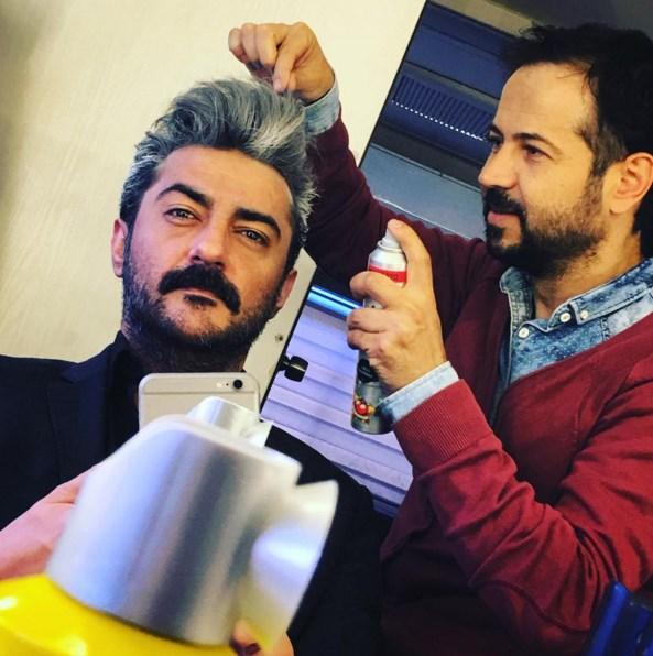 Celil Nalçalan  Kuru şampuan bizim işimiz :) @umit_ada ... Akşama görüşürüz #PoyrazKarayel ci