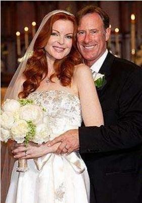 Marcia Cross Tom Mahoney ile evlendiğinde 43 yaşındaydı.