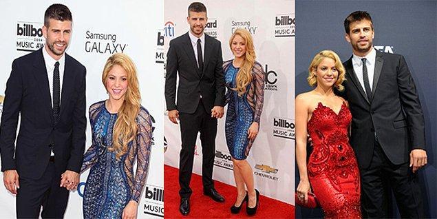 Shakira & Pique  Ünlü şarkıcı Shakira 1.50 iken ünlü futbolcu Pique'nin boyu 1.92'dir.