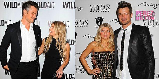 Josh Duhamel & Fergie  Yakışıklı aktör Josh Duhamel, 1.92 cm boyunda. Karısı ünlü şarkıcı Fergie'nin boyu ise 1.59 cm.