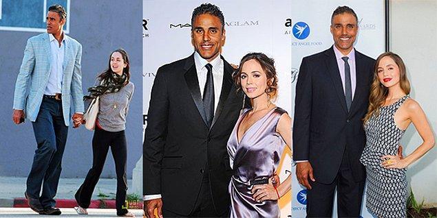 Eliza Dushku & Rick Fox  ABD'li aktris Dushku 1.65, bir zamanlarki sevgilisi eski basketbolcu Fox ise 2.01 boyunda.