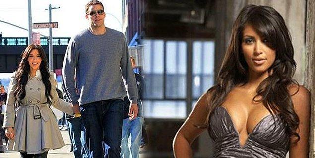 Kris Humphries & Kim Kardashian  NBA oyuncusu 2.06 boyundaki Humphries ile TV yıldızı 1.59luk Kardashian'ın beraberliği kısa sürdü.