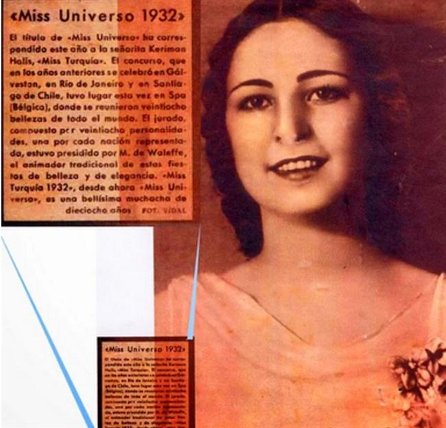 Aslında pek çoğumuzun adını bile duymadığı Keriman Halis, Türk piyanist, model ve Türkiye'nin ilk dünya güzeli olarak bu listenin olmazsa olmaz isimlerinden biridir.