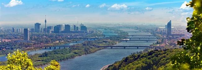 Viyana, Avusturya  Avusturya'nın başkenti, Tuna Havzası'nda bulunuyor.