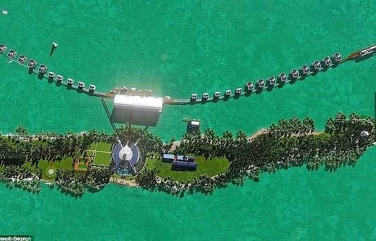 Leonardo diCaprio: Belize'de bir tatil köyü kuruyor.