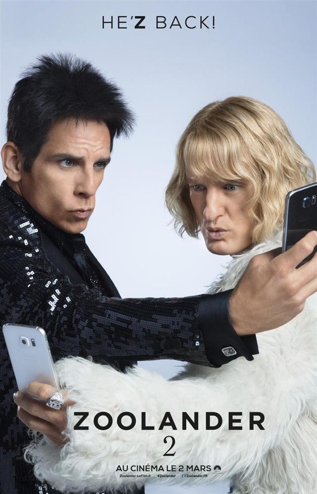 Zoolander 2  Yönetmenliğini Ben Stiller'ın üstlendiği 2001 tarihli Zoolander filmi 15 yıl aradan sonra yeniden beyaz perdeye konuk oluyor. Zamanının moda ikonu olan modelimiz Derek, bu defa Hansel ile birlikte tekrardan podyumlar dönmeye karar verirler. Ancak zaman Derek ve  Hansel'e acımasız davranır. İşler tahmin ettikleri gibi kolay olmayacaktır. Podyumlar artık sosyal medyanın elindedir.   Filmin yönetmen koltuğunda Ben Stiller oturuyor. Senaryo yazarları Justin theroux ve Ben Stiller & John Hamburg ve Nicholas Stoller var.  Owen Wilson, Ben Stiller  ve Will Ferrell'ı başrollerinde izleyeceğimiz filmde Penelope Cruz, Justin Bieber ve Milla Jovovich gibi ünlü isimler kamera karşısına geçiyor.
