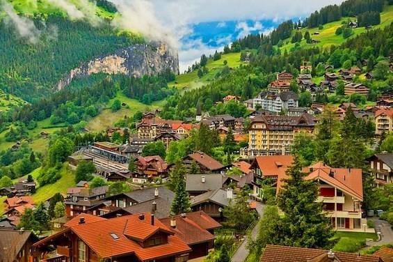 Wengen, İsviçre