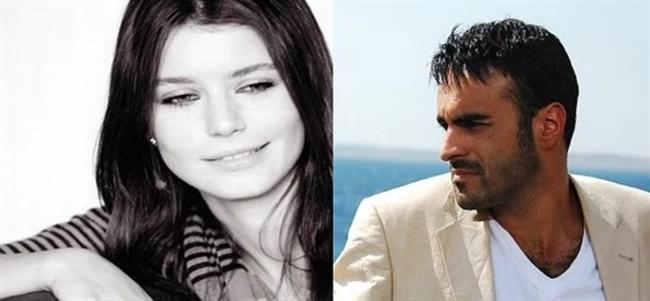 Beren Saat - Alper Kul  Alper Kul ve protez saçı, Beren Saat'in ilk dizisi Aşka Sürgün'den set aşkı olur.