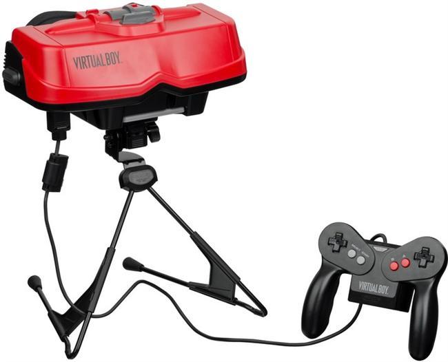 Nintendo Virtual Boy: Virtual Boy, Nintendo'nun ömrü en kısa süren ürünü oldu. 1995 yılında piyasaya çıkan Virtual Boy'un ömrü sadece altı ay sürdü. Üç boyutlu grafikler oyununun, oyuncunun etrafını görmesini tamamen engelleyen kocaman, parlak kırmızı bir kaskı vardı. Perakende fiyatı 180 dolar olan bu pahalı oyuncakla sadece 14 oyun oynanabiliyordu. Dolayısıyla Nintendo çabalarını çok daha başarılı olan geleneksel Nintendo 64 sistemine odaklayıp Virtual Boy'u çöpe atmayı yeğledi.