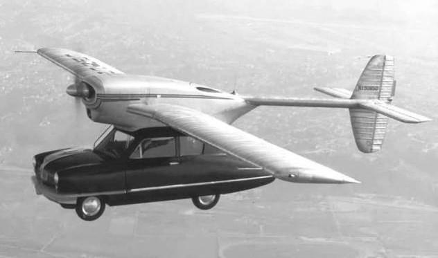 Mizar uçan araba: Uçan araba tamamen bilim kurgu ürünü değil. 1940'larda yatırımcılar California eyaletinden Ohio eyaletine kadar bir arabayı uçurmayı başardı. Tek sorun, arabanın maliyet ve teknik yetersizliklerden dolayı havalanamamasıydı. Ancak 1973'te, Henry Smolinsli adında bir mucit bir Ford Pinto'ya kanat ve kuyruk ekleyerek geçmişte başarısız olan girişimleri başarıya dönüştürmeyi başardı. California'da yapılan bir test uçuşunda, Pinto kontrolden çıktı ve yere çakılarak Smolinski ve yanındaki kişinin ölümüne neden oldu.