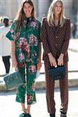 Sokakta Pijama Modası - 2