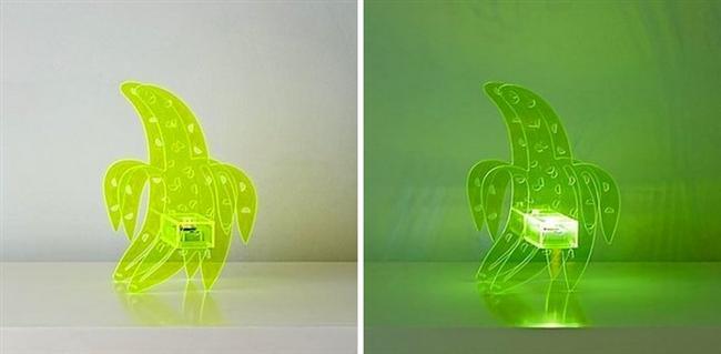 Farklılık arayanlar için muzlu lamba!