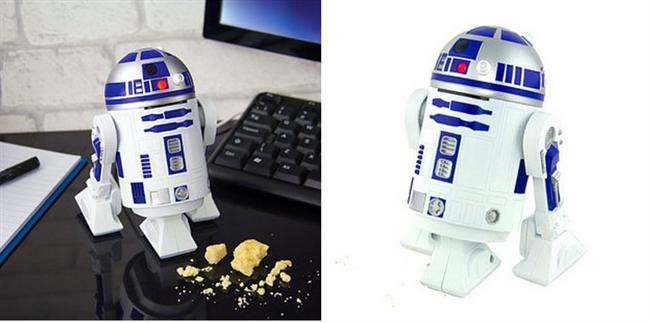Bu R2-D2 masanıza döktüğünüz kırıntıları toplayacak, siz hiç dert etmeyin!