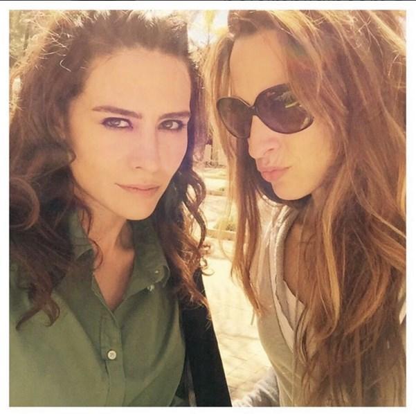 Belçim Bilgin  Working non-stop🎬it is pleasure with this amazing lady @jshannson 💖 #b4b