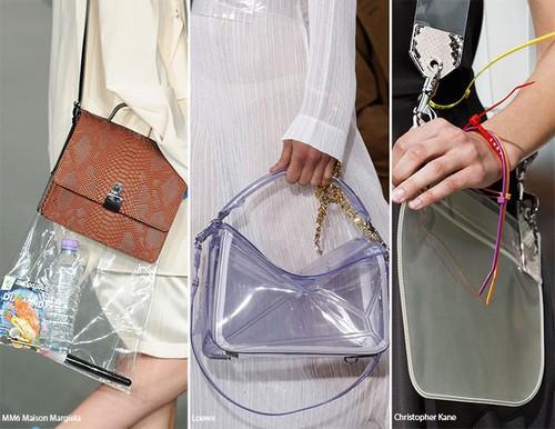 Transparan çantalar