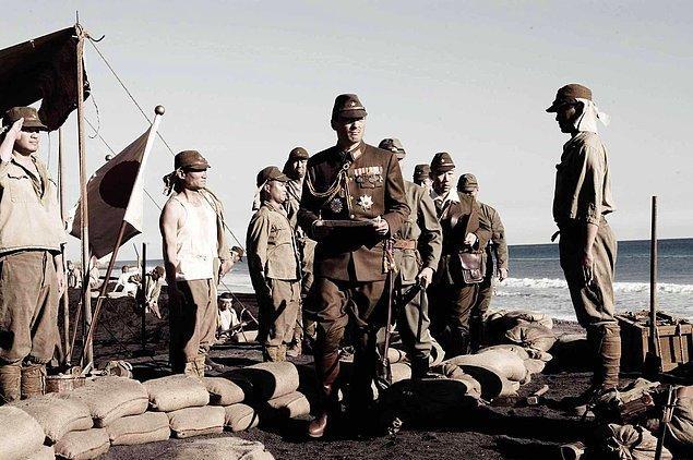 Iwo Jima'dan Mektuplar (2006)  İkinci Dünya Savaşı'nın sonlarında Amerikan askerlerinin Japonların elindeki Iwo Jima Adası'na yaptıkları kanlı çıkarma üzerine odaklanan film, yaşananlara kaybeden tarafından bakıyor. Yıllar sonra adanın ıssız topraklarında bulunan mektuplarla ortaya çıkan gerçekler, mağlubiyetin kaçınılmaz olduğu bir ortamda Japon askerlerinin nasıl kırk günlük bir direniş gösterebildiklerini ortaya koyar.