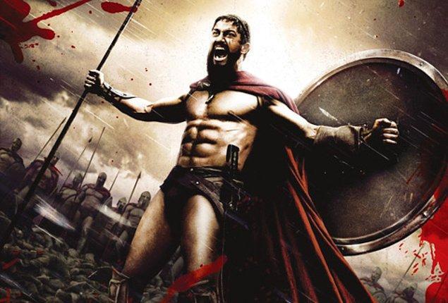 300 Spartalı (2006)  Sparta Kralı, son derece kuvvetli bir ordu ile karşı karşıyadır çünkü Pers Kralı Xerxes, sahip olduğu gücü çoktan Yunan Krallıkları üzerine salmıştır. Sparta Kralı, bu durumla baş edebilmek için çareyi yürekleri cesur 300 askerini toplamakta bulur. Tanrıları savaşa ikna edememiştir. Bu savaşçı yetiştirilmiş 300 asker, şartların zorluğuna rağmen ve ölmek pahasına Thermopylae'de Perslilerle savaşmaya hazırdır.